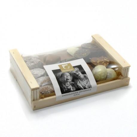 Cagette assortiment de chocolat Guinguet 240g