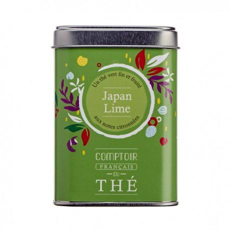 Thé Japan Lime Boite 80g