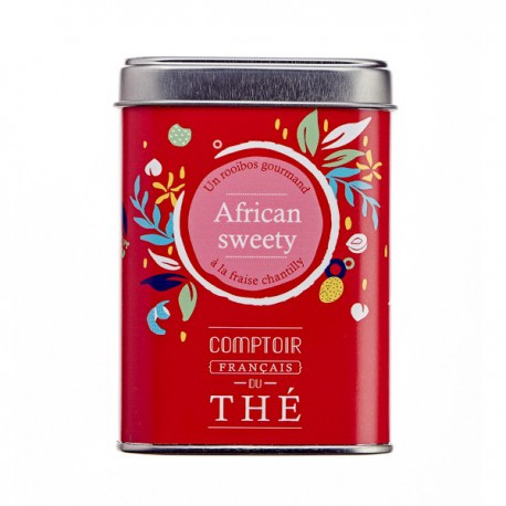 Rooibos African Sweety fraise 90g
