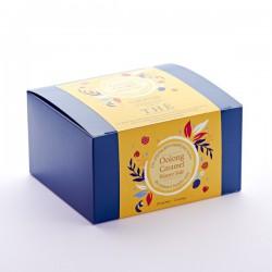Thé bleu vert Oolong caramel beurre salé Boite 20 sachets