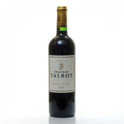 Chateau Talbot AOC Saint Julien rouge 2012, 75cl