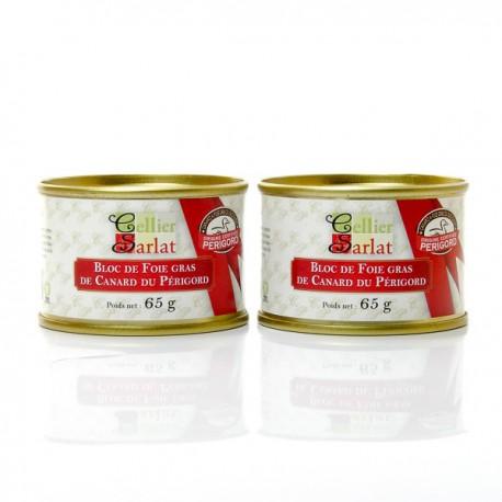 Le Bloc de Foie gras de Canard 130g