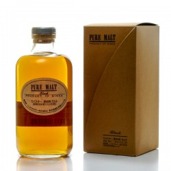 Whisky japonais Nikka Pure Malt Black Blended 43° 50cl