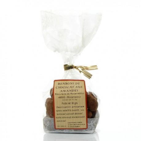 Sachet d'amandes au chocolat 90g