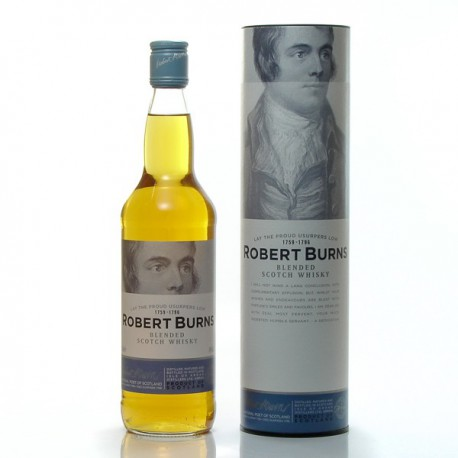 Whisky Ecosse Robert Burns + coffret Blended Scotch 40° 70cl