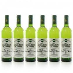 Lot de 6 bouteilles Château Court les Mûts AOC Bergerac sec 2017