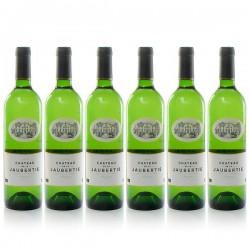 Lot de 6 bouteilles Château La Jaubertie AOC Bergerac Sec 2019