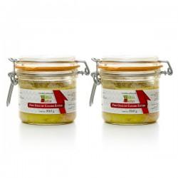 Lot de 2 foies gras de canard entier 2x300g