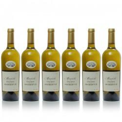 6 bouteilles Château La Jaubertie Mirabelle 2017 AOC Bergerac Sec 75cl