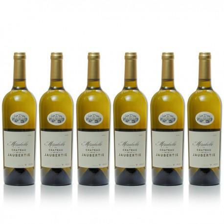 6 bouteilles Château La Jaubertie Mirabelle 2018 AOC Bergerac Sec 75cl