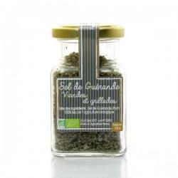 Sel de guérande aromatisé au thym bio, 100g