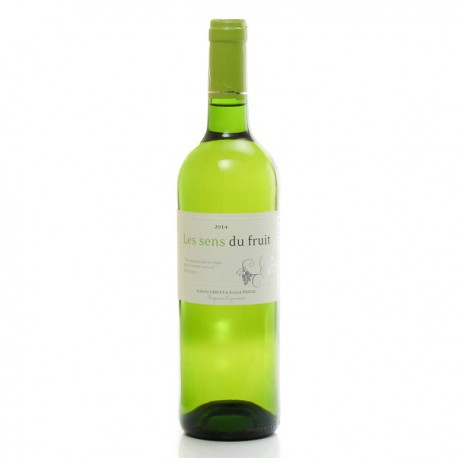 Château Jonc Blanc Les Sens du Fruit, VDF Blanc sec 2014, 75cl