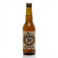 Bière brassée 24 blonde Brasserie Artisanale de Sarlat 33cl