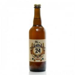 Bière brassée 24 blonde Brasserie Artisanale de Sarlat 75cl
