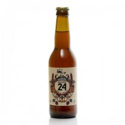 Bière brassée 24 ambrée Brasserie Artisanale de Sarlat 33cl
