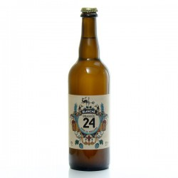 Bière brassée 24 Blanche Brasserie Artisanale de Sarlat 75cl