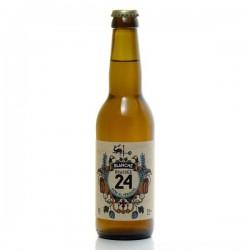 Bière brassée 24 Blanche Brasserie Artisanale de Sarlat 33cl