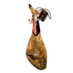Jambon ibérique de Bellota 36 mois D.O. Guijuelo 8kg et son coffret de présentation