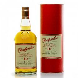 Whisky Ecosse Glenfarclas 10ans Single Malt Scotch 40° 70cl