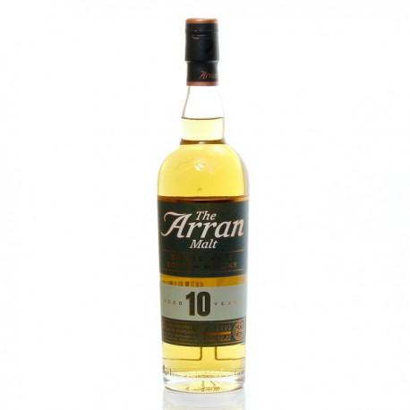 Whisky Arran 10 ans et son étui 46° 70cl