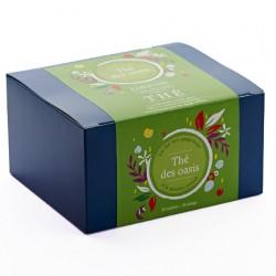 Thé vert des Oasis à la menthe Boite de 20 Sachets