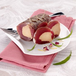 Canochon filet mignon de porc séché fourré au foie gras 160g +/- 20g