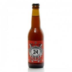 Bière d'hiver Brassée 24 Brasserie Artisanale de Sarlat 33cl