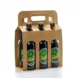 Lot de 6 bières artisanales St Patrick Brasserie Ratz 6 x 33cl