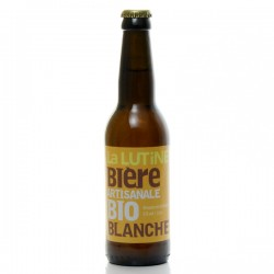 Bière blanche artisanale du Périgord Brasserie La Lutine, 33cl