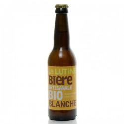 Bière blanche artisanale du Périgord Bio Brasserie La Lutine, 33cl