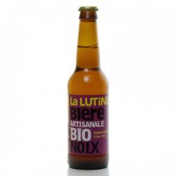 Bière artisanale du Périgord Bio à la noix Brasserie la Lutine 33cl