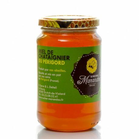 Miel de Châtaignier du Rucher de Marandou, 500g