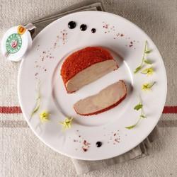 Foie Gras de Canard mi-cuit sous-vide au piment d'Espelette 200g