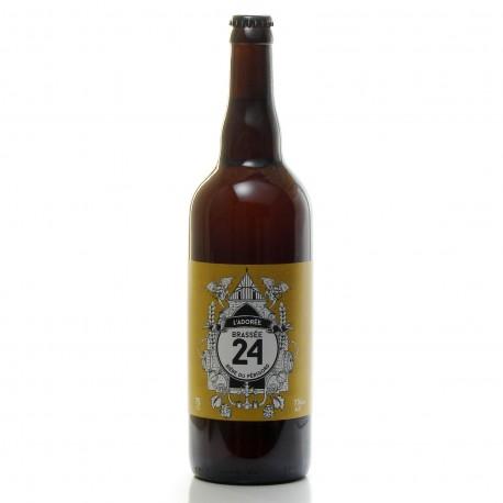 Bière blonde l'Adorée Brasserie Artisanale de Sarlat 75cl