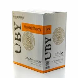 6 bouteilles de Domaine UBY Gros et Petit Manseng n°4 2016