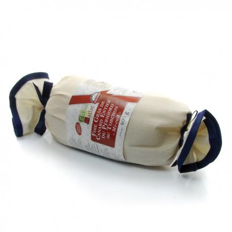 Le Foie Gras Entier de Canard mi-cuit au Torchon 400g