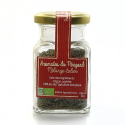 Aromates bio du Périgord spécial mélange italien 20g