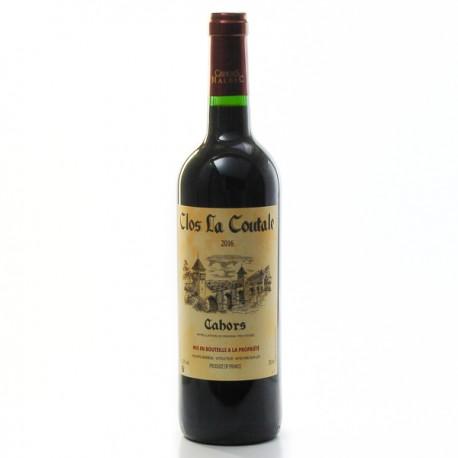 Clos la Coutale AOC Cahors 2016 75 cl