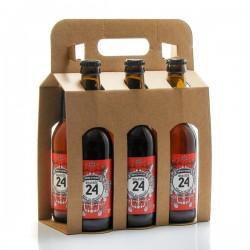 Pack de 6 bières Brassée 24 Bière d'Hiver Brasserie Artisanale de Sarlat 6x33cl