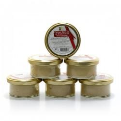 Lot de 6 crèmes brûlées au foie gras de canard, 6 x 40g