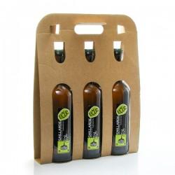 Pack de 3 bières blondes Kiclac artisanales Brasserie La Gaillarde 75cl x 3 soit 225cl