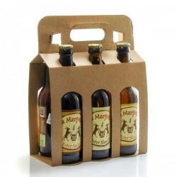 Pack de 6 bières artisanales du Périgord Brasserie Margoutie 33cl x 6 soit 198cl