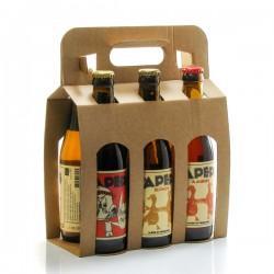 Pack de 6 bières artisanales du Périgord Brasserie Lapépie 6x33cl soit 198cl
