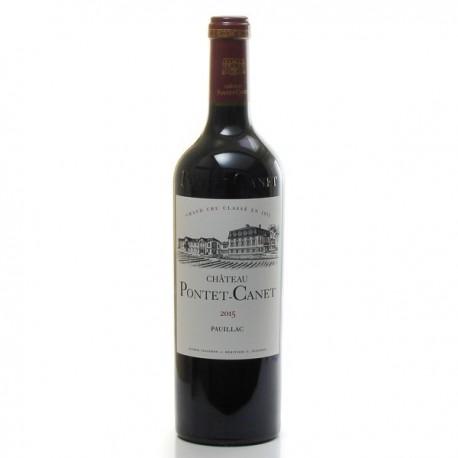Château Pontet Canet AOC Pauillac Rouge Bio 2015 75cl