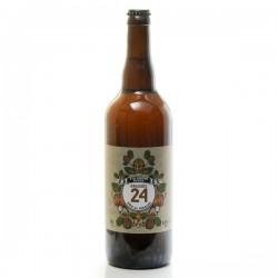 Bière brassée 24 à la Liqueur de Noix Brasserie Artisanale de Sarlat 75cl