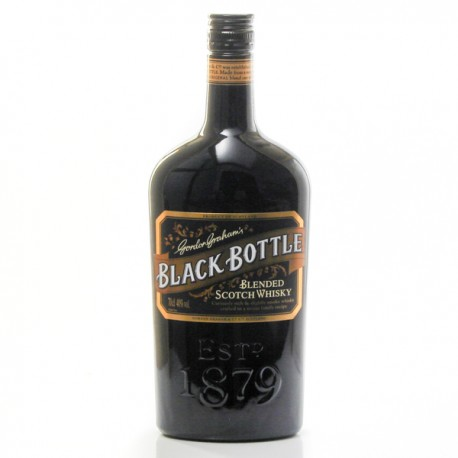 Whisky Ecosse Gordon Graham's Black Bottle Blended Scotch 40° 70cl