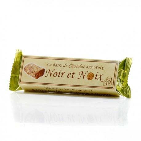 Barre Gourmande Chocolat et Noix - Domaine de Bequignol, 45g
