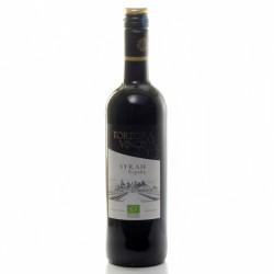Tortora Vinos Syrah Espana Vin Rouge Espagnol Bio 2017 75cl