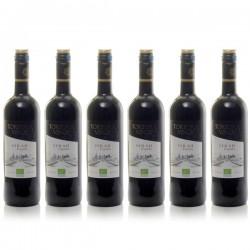 Coffret de 6 bouteilles de Tortora Vinos Syrah Espana Vin Rouge Espagnol Bio 2017 75cl