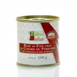 Bloc de Foie Gras de Canard IGP Périgord 100g